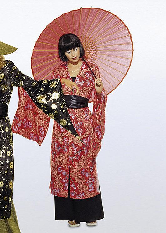 Burda Schnittmuster - Kimono & Hose - Asia-Kombination (3044 ...