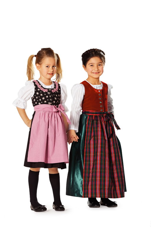 Burda Schnittmuster - Mädchen-Dirndl (9509) - Kurzwarenland.de
