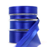 Satinband royalblau (3mm, 10mm, 25mm, 40mm)
