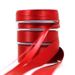 Satinband rot (3mm, 10mm, 25mm, 40mm)