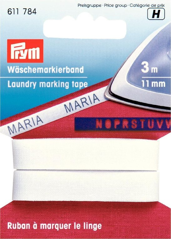 prym w schemarkierband 11mm b gelbar. Black Bedroom Furniture Sets. Home Design Ideas