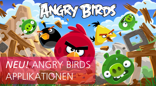 Angry Birds Applikationen