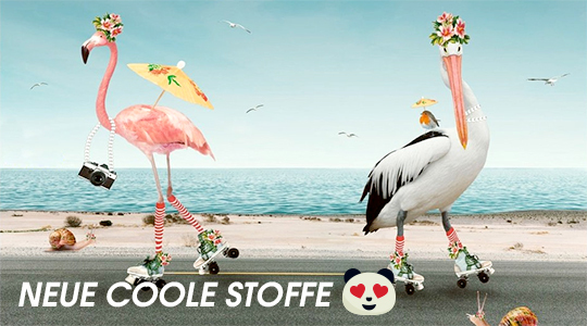 Neue coole Stoffe