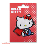Applikation Hello Kitty sitzend