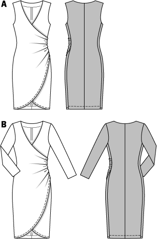 Burda Schnittmuster - Kleid (6829) - Kurzwarenland.de