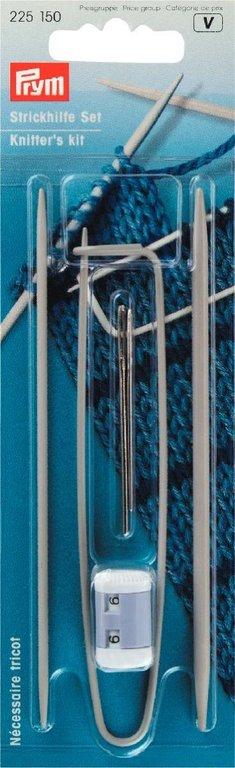 Alze Strickhilfe Set Reihenzähler Hilfsnadeln Wollnadeln Maschenraffer 5 Teile