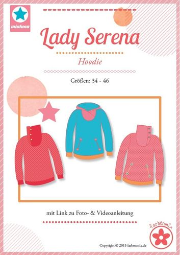 Schnittmuster Farbenmix Lady Serena