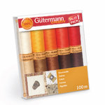 Gütermann Baumwollgarn C Ne 50 Set Autumn